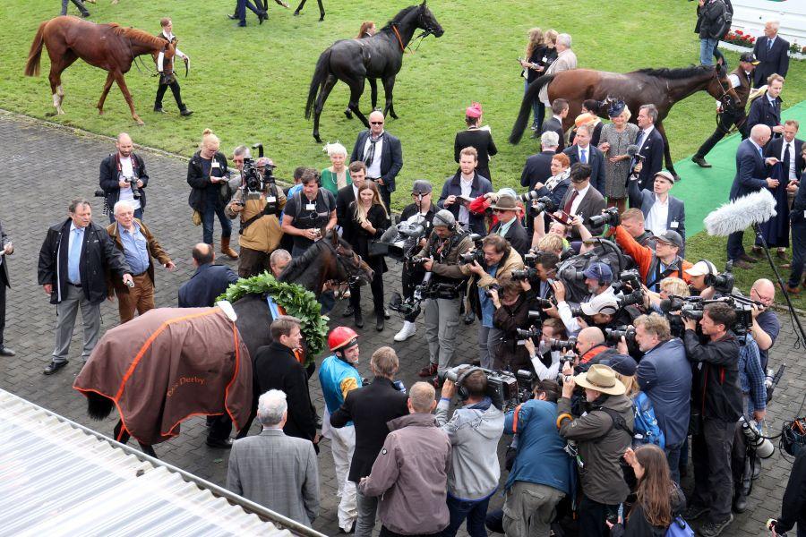 Noch 57 Pferde im IDEE 149. Deutschen Derby :: Hamburger