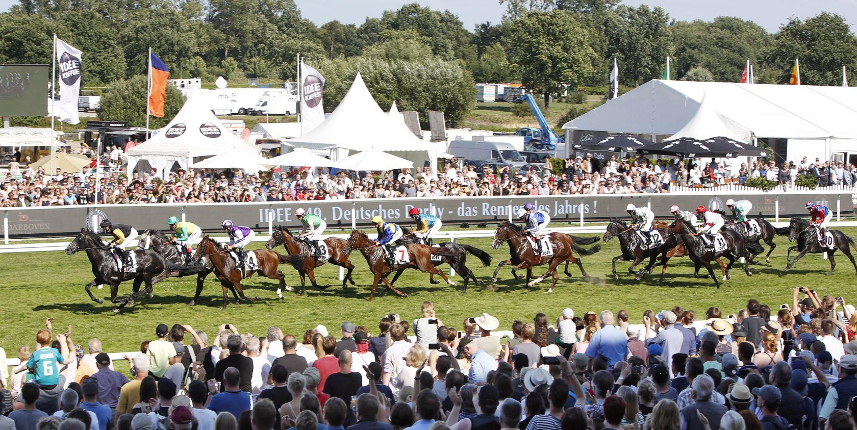 Noch 19 Pferde im IDEE 150. Deutschen Derby