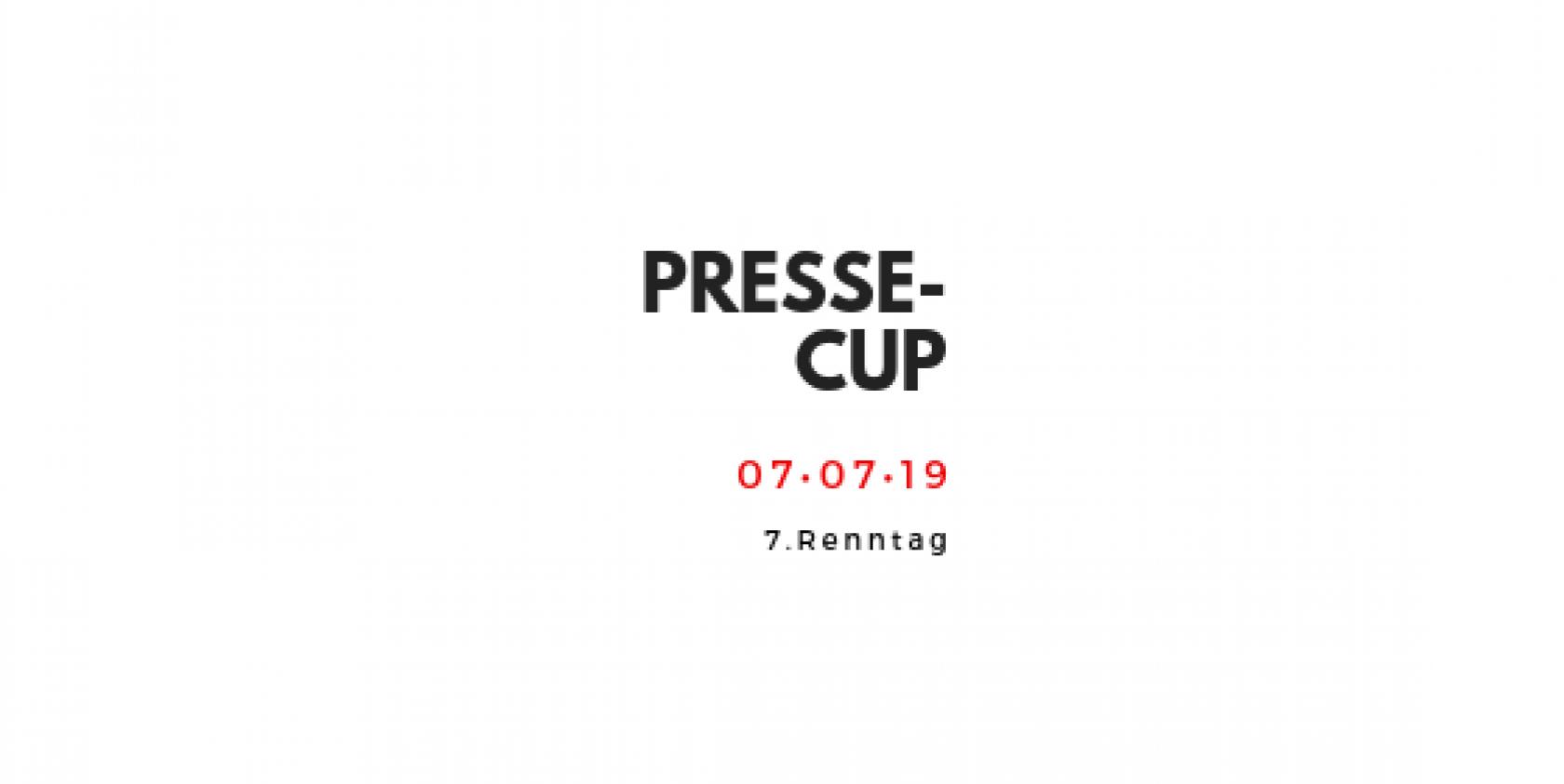 Pressecup 7. Renntag, Sontag 07. Juli 2019