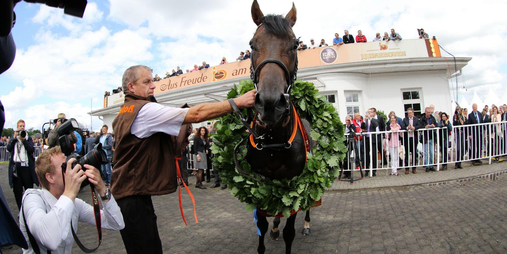 IDEE 149. Deutsches Derby - das Rennen des Jahres !