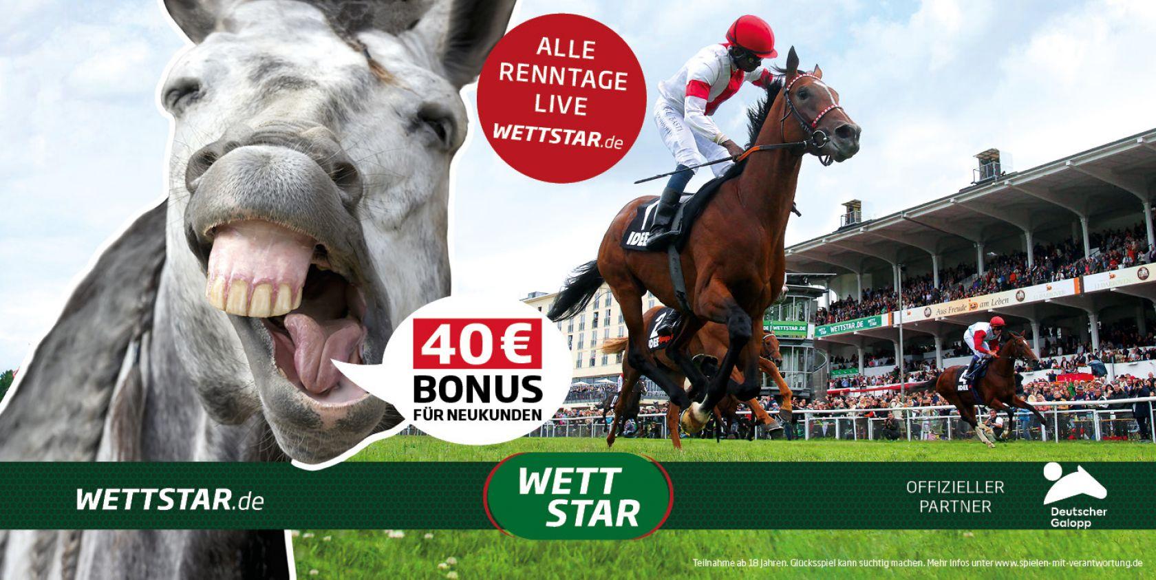 Werbung Pferdewetten