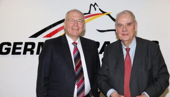 Dr Michel Vesper und Albrecht Woeste