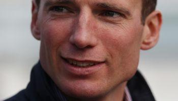 Henk Grewe ist der Trainer des Derbyfavoriten Wonderful Moon und auch von Sir Polski, Albert Darbovens Derby-Hoffnung. (Foto: Marc Rühl)