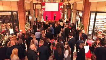 Der Hamburger Renn-Club lud zum Jahresausklang 2019 ins Hamburger Levantehaus mit Sponsoren und Mitgliedern. Foto: Pegamo-Networks)