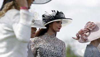 Die schönsten Hutkreationen werden jedes Jahr beim Derby gekührt.